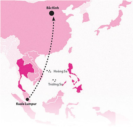 Máy bay Malaysia mất tích bí ẩn: Không loại trừ do khủng bố - ảnh 3