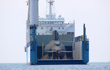 Hạ thủy tàu ngầm TP.HCM - ảnh 1