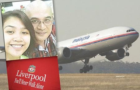 MH370 và fan Liverpool - ảnh 1