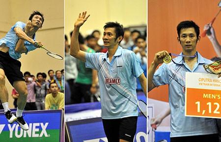 Tiến Minh vô địch giải cầu lông quốc tế Hà Nội  - ảnh 1