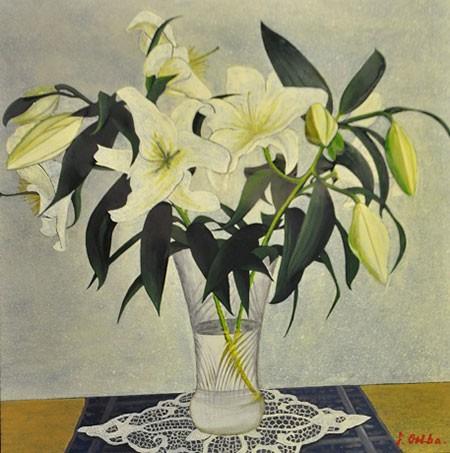 Triển lãm tranh sơn mài của họa sĩ Nhật - ảnh 1