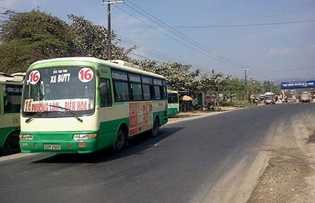 Đồng Nai: Xe buýt bỏ bến ra đường đậu - ảnh 1