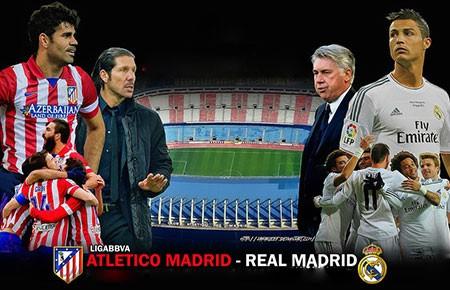 Real Madrid - Atletico Madrid: Thành Madrid chia đôi - ảnh 1