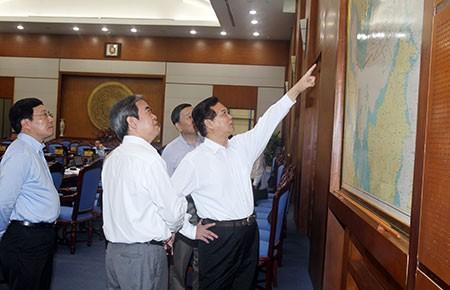 Thủ tướng Nguyễn Tấn Dũng: Quyết bảo vệ chủ quyền nhưng vẫn trọng hợp tác - ảnh 1