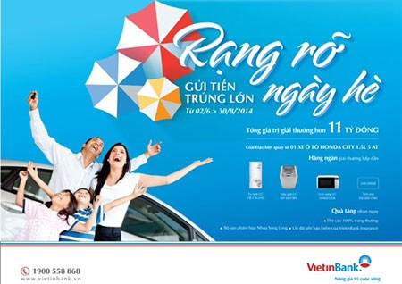 Gửi tiền VietinBank, trúng ô tô Honda City - ảnh 1