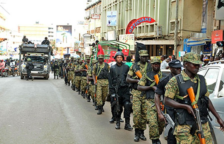 Âm mưu đánh bom sân bay ở Uganda - ảnh 1