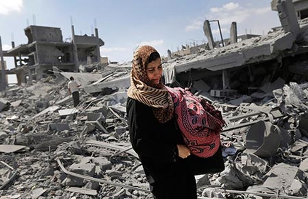 Hơn 1.000 người Palestine thiệt mạng  - ảnh 1