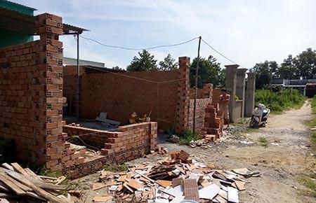 Đồng Nai: Nhức nhối nạn xây dựng không phép - ảnh 1