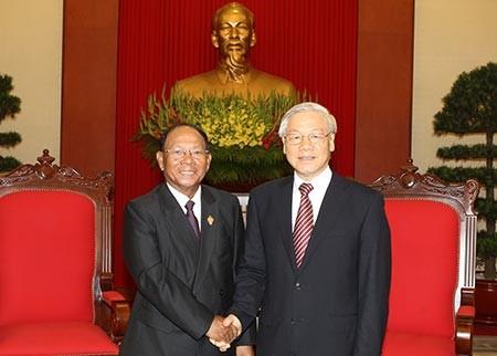 Quan hệ Việt Nam-Campuchia ngày càng thiết thực - ảnh 1