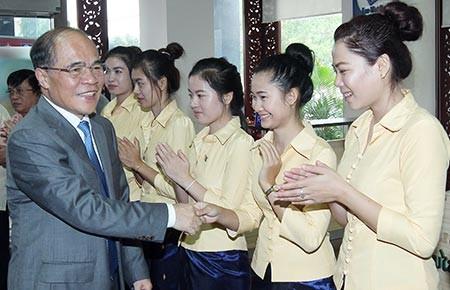Doanh nghiệp Việt Nam tại Lào góp phần củng cố quan hệ hai nước - ảnh 1