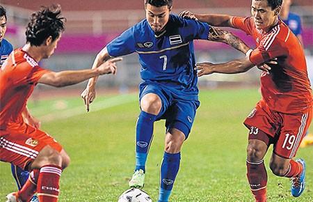 Bán kết bóng đá nam Asiad 17: Thái Lan chưa vượt ngưỡng - ảnh 1