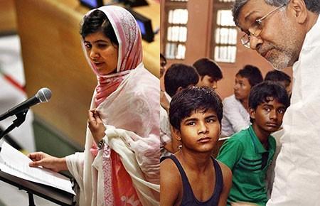 Giải Nobel Hòa bình năm 2014: Hai tấm gương bảo vệ quyền trẻ em - ảnh 1