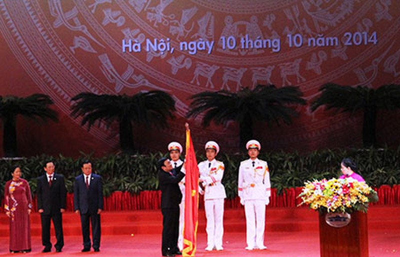 Hà Nội đón nhận huân chương Hồ Chí Minh - ảnh 1