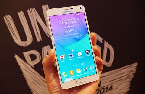Mua Galaxy Note 4 trả góp 0 đồng, quà 500.000 đồng - ảnh 1