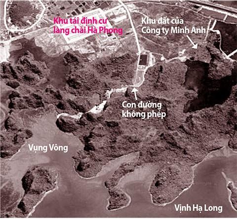 Xẻ núi làm đường, phá cảnh quan vịnh Hạ Long - ảnh 1
