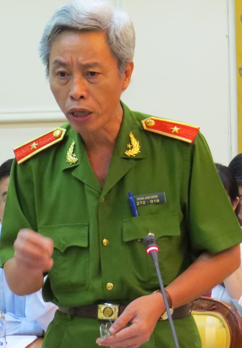 Thiếu tướng Phan Anh Minh: Trốn nhà theo trai mà báo thành tin bắt cóc - ảnh 1