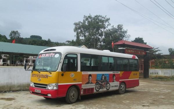 Mở tuyến xe buýt miễn phí để đưa đón học sinh - ảnh 1
