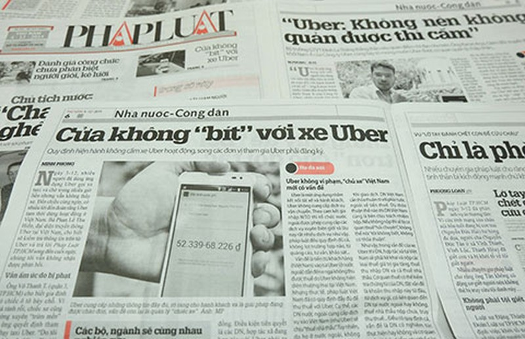 Bộ GTVT: Sẽ có cách quản xe Uber - ảnh 2