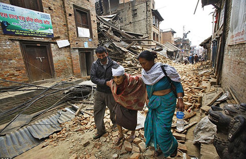 Động đất ở Nepal: Số người chết quá khủng khiếp! - ảnh 1