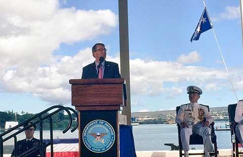 Mỹ vẫn duy trì tuần tra ở biển Đông  - ảnh 1
