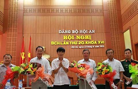 Hội An có bí thư mới thay ông Nguyễn Sự - ảnh 1