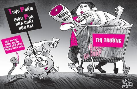 Chưa vào TPP, đã 'bị buộc'quay lưng với hàng nội - ảnh 1