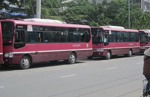 Bãi đậu xe buýt làm khổ dân - ảnh 1