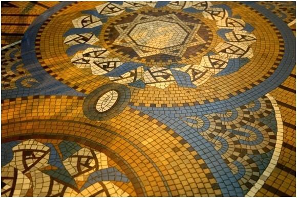 Âm vọng ngàn xưa trong thảm gạch Mosaic thương xá Tax - ảnh 13