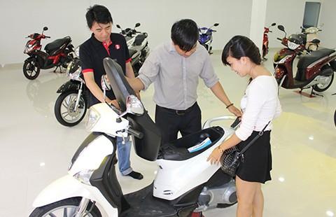 Xe tay ga đắt tiền đổ bộ vào Việt Nam  - ảnh 1