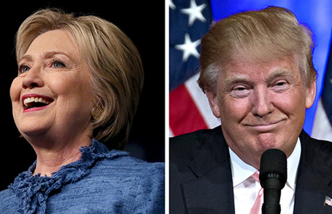 Rubio bỏ cuộc, Hillary và Trump thẳng tiến  - ảnh 1