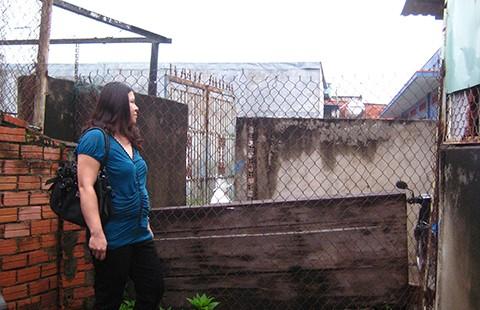 Chậm xử lý việc dựng rào chặn lối đi  - ảnh 1