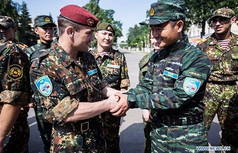 Trung-Nga diễn tập chống khủng bố - ảnh 1