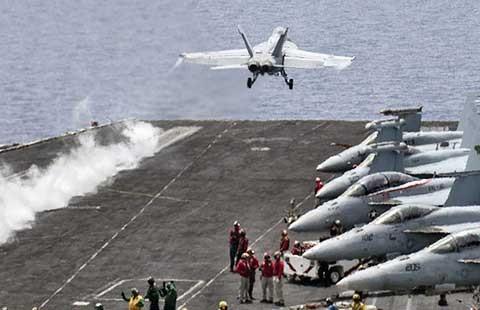 Mỹ muốn ném bom IS phải ký văn bản thỏa thuận với Libya - ảnh 1