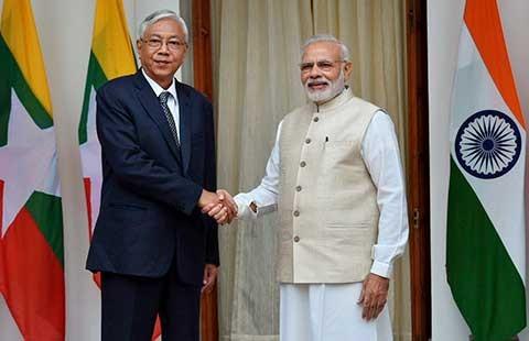 Ấn Độ chiều Myanmar để ngăn Trung Quốc - ảnh 1
