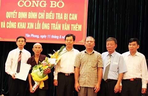 Ông Trần Văn Thêm yêu cầu bồi thường 8,3 tỉ đồng - ảnh 1
