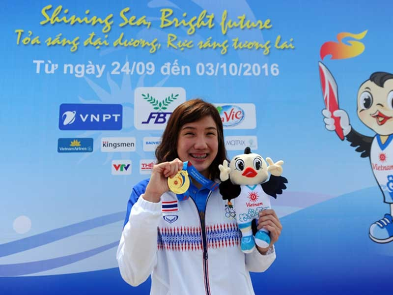 ABG5 2016: Thái Lan và Kazakhstan đoạt HCV đầu tiên - ảnh 1