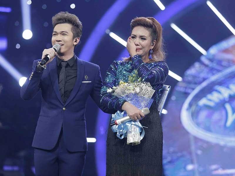 Cô gái Phi gây bất ngờ trong Vietnam Idol  - ảnh 1