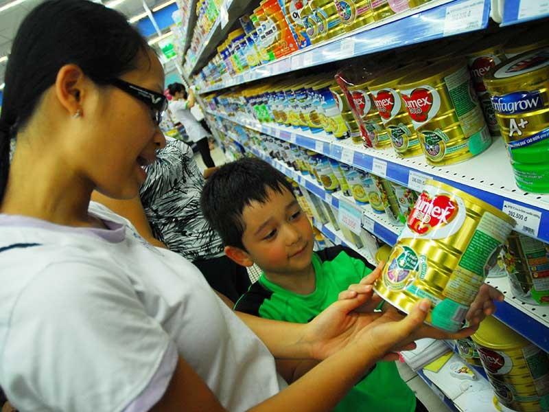 Sữa Dumex chia tay thị trường Việt - ảnh 1