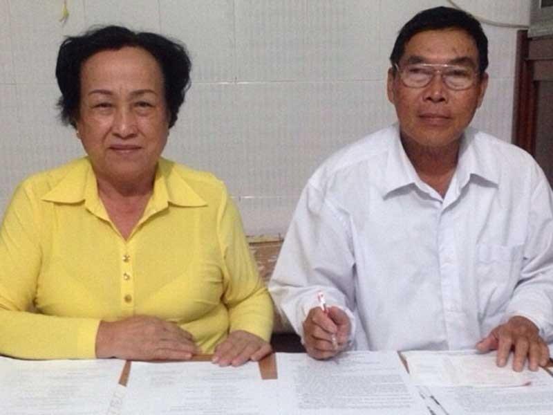 2 vợ chồng bị oan và 13 năm đòi công lý  - ảnh 1