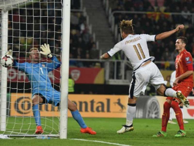 Vòng loại World Cup 2018: Ý suýt ôm hận - ảnh 1