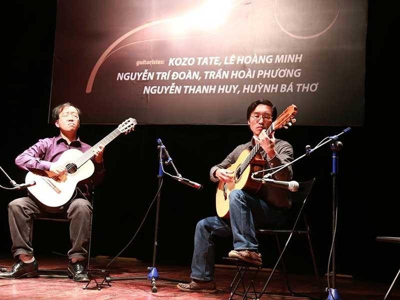 Cây đàn được tặng của nghệ sĩ Huỳnh Bá Thơ - ảnh 1