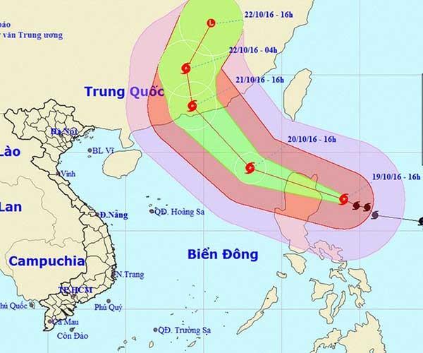 Siêu bão Haima có thể đổi hướng vào Hong Kong - ảnh 2