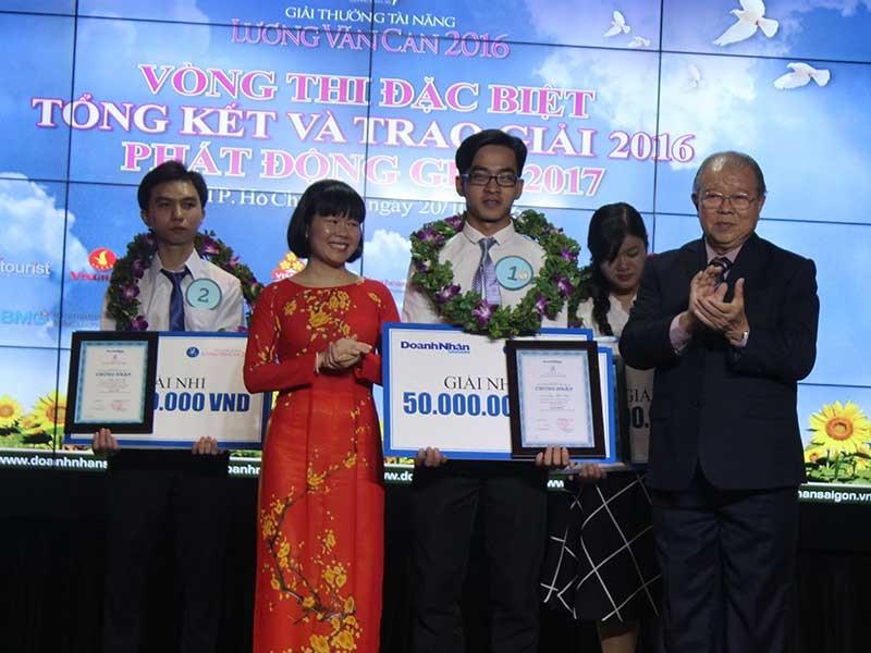 Giải thưởng tài năng Lương Văn Can có chủ - ảnh 1