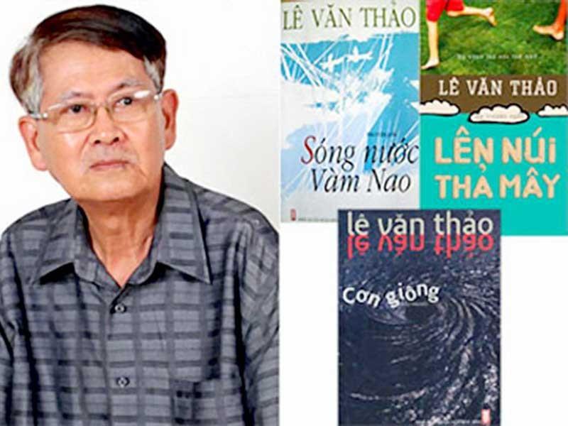 Nhà văn Lê Văn Thảo đã lên núi thả mây - ảnh 1