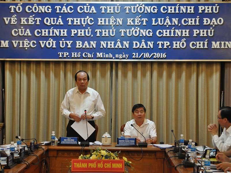 Thủ tướng lưu ý TP.HCM về ngập nước, kẹt xe, ô nhiễm... - ảnh 1