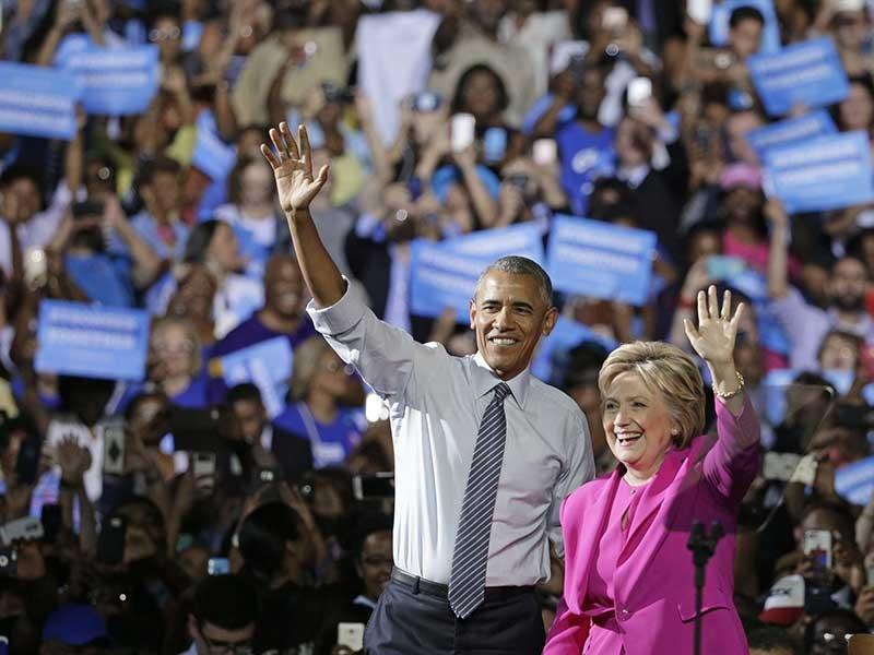 Tăng tốc đến Nhà Trắng: Những át chủ bài của bà Clinton - ảnh 2