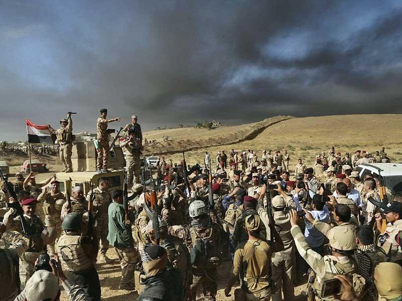 900 tên IS bị giết trong chiến dịch tái chiếm Mosul - ảnh 1
