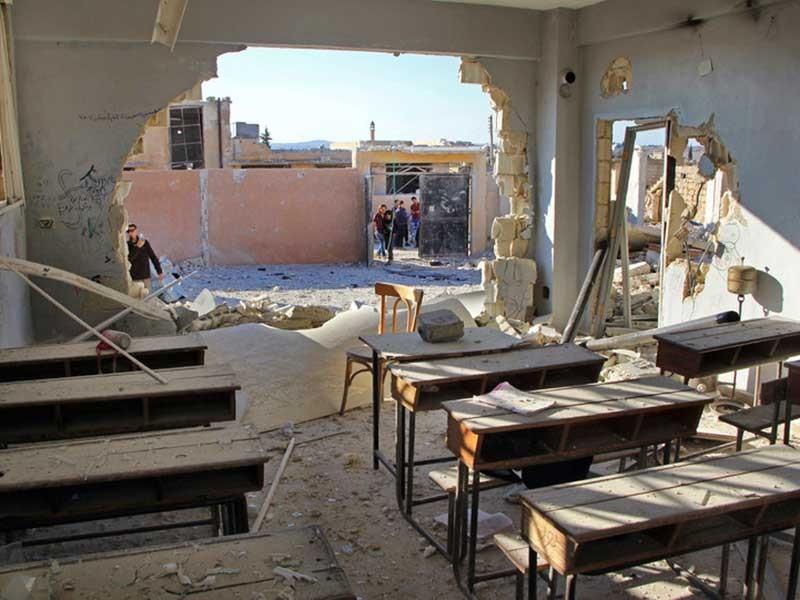 Nga tuyên bố không ném bom vào trường học ở Syria - ảnh 1