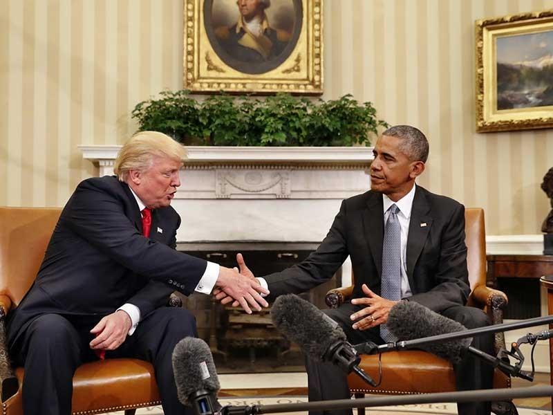 Ông Trump dọn đường vào Nhà Trắng - ảnh 1