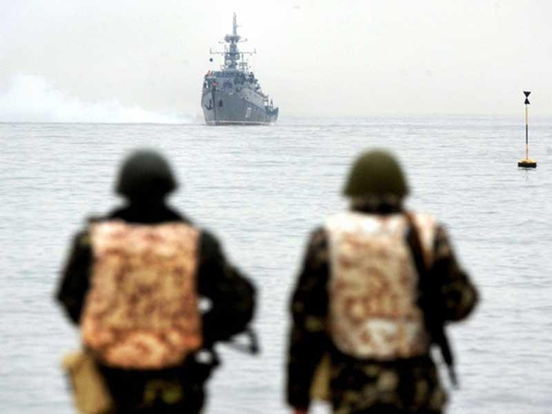 Hạm đội Biển Đen điều tàu sẵn sàng bắn tên lửa Ukraine - ảnh 1